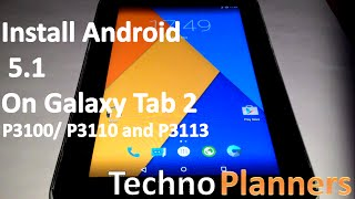 getlinkyoutube.com-How To Install Android 5.1 on Galaxy Tab 2 7.0
