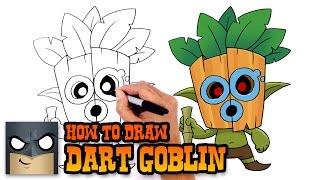 getlinkyoutube.com-How to Draw Dart Goblin | Clash Royale