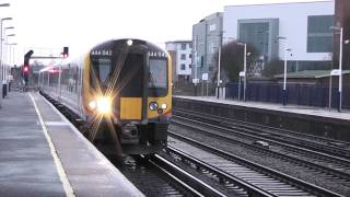getlinkyoutube.com-Class 444's coupling at Eastleigh