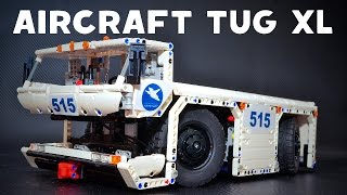 getlinkyoutube.com-Lego Technic Aircraft Tug XL