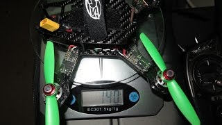 getlinkyoutube.com-Diatone 160  Build Log  216g AUW - 200mw OSD 600TVL 20A LittleBee - Peel Drone
