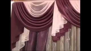 getlinkyoutube.com-Красивые шторы для кухни, гостиной, спальни
