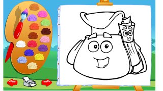 Dora The Explorer Painting Games Online Free - Dora Painting Games