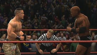 WWE 2K14 - John Cena vs Bobby Lashley Promo