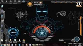 how to: install the jarvis (iron man) theme on windows 7