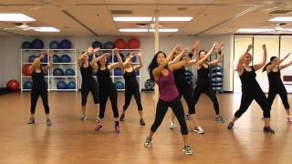 getlinkyoutube.com-La Mordidita - Ricky Martin - Zumba workout -  Choreo Danielle's Habibis