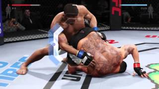 getlinkyoutube.com-EA Sports UFC 2 all submission moves