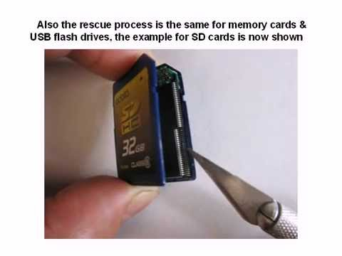 SD SDHC CF xD memory card &amp; USB flash drive data recovery