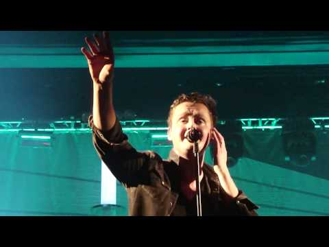 Keane - Neon River (new, live) - O2 Academy, Birmingham, 25 May 2012