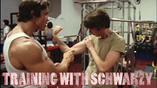 getlinkyoutube.com-Training with Schwarzy
