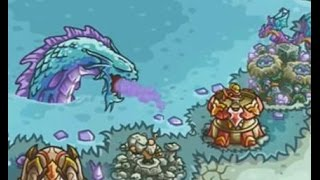getlinkyoutube.com-Kingdom Rush Origins - The Crystal Lake - 3 Stars NLL Walkthrough