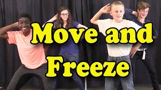 getlinkyoutube.com-Brain Breaks - Action Songs for Children - Move and Freeze - Kids Songs by The Learning Station