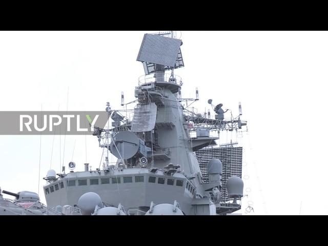 Russisches Schlachtschiff wieder einsatzbereit