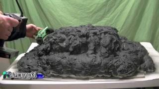 getlinkyoutube.com-Micro Rock Crawler Spray Foam Mountain Course Build