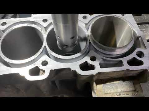 Гильзовка блока двигателя 2.5л бензин QR25DE от Nissan