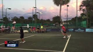 Evento benéfico de Tenis en la Academia Sánchez-Casal en Naples