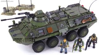 getlinkyoutube.com-Mega Bloks BTR-80 Call of Duty Combat Vehicle Attack review!