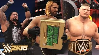 getlinkyoutube.com-WWE 2K16 - Seth Rollins Cashes in MITB at Wrestlemania 31