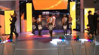 "getlinkyoutube.com-[HD] 131229 夜莺Dynasty Shingeki no Kyojin ""This Love"" Dance Performance"