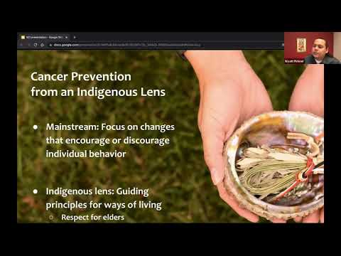 Reclaiming Indigenous Health: Cancer Prevention in American Indian/Alaskan Native Communities video thumbnail