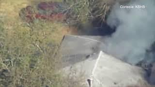 Los bomberos en Kansas City atendieron 3 incendios a la vez al medio día del lunes
