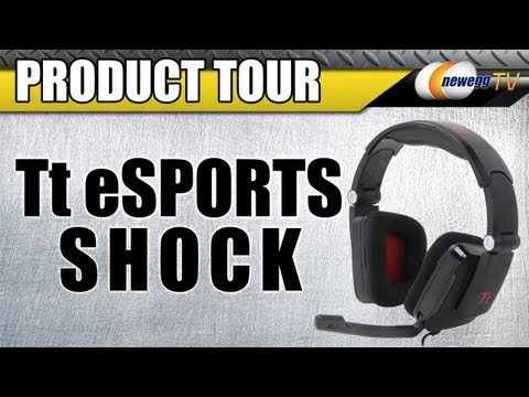 Newegg TV: Tt eSPORTS Black Shock Gaming Headset Product Tour