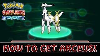 getlinkyoutube.com-Pokémon Omega Ruby and Alpha Sapphire   How To Get Arceus! (Event - March 2015)