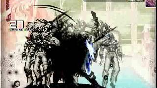 getlinkyoutube.com-Stone Orochi vs Dark Adel & Orochi K'