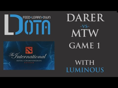 Darer vs mTw - Game 1 (TI2 Group Stages)