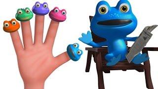 getlinkyoutube.com-Frog Finger Family And More Finger Finger Family Songs | Nursery Rhymes Collection | Kids Songs