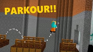 MINECRAFT : PARKOUR 2D !! (PARKOUR MAIS ESTRANHO!! )