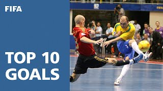 getlinkyoutube.com-Top 10 Goals: FIFA Futsal World Cup Brazil 2008
