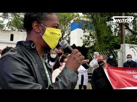 Ato na UBS Vila Progresso contra a terceirização e o desmonte dos serviços públicos