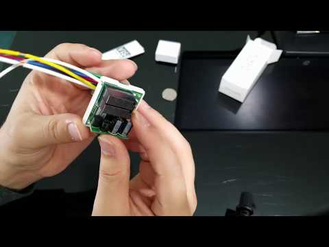 Vision In Wall Z-Wave Micro Switch + Samsung Smart Things