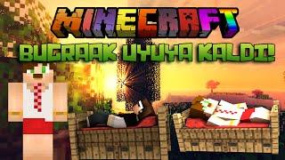 getlinkyoutube.com-BugraaK UYUYA KALDI! - Minecraft Yatak Savaşları! - Minecraft BEDWARS! - w/ Minecraft Evi
