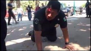 getlinkyoutube.com-Video- Un subjefe de policía, linchado por corrupto por sus propios subordinados