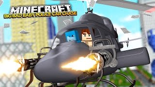 getlinkyoutube.com-Minecraft BIG BAD BABY - CRAZY BABY POLICE CHASE!!