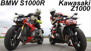 getlinkyoutube.com-BMW S1000R vs Kawasaki Z1000