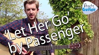 getlinkyoutube.com-Let Her Go - Passenger EASY Guitar Lesson - How To Play