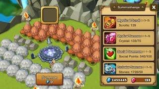getlinkyoutube.com-Vindicated_ Summoners War : 190 Summons - 4LS, 5LD, 130 MS, 1700 Stones, 17 Elemental