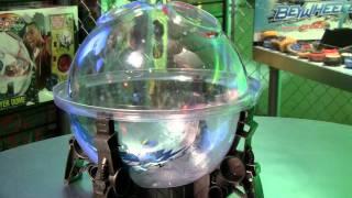 BeyBlade Demo at Hasbro NY Toy Fair 2012 - zooLert