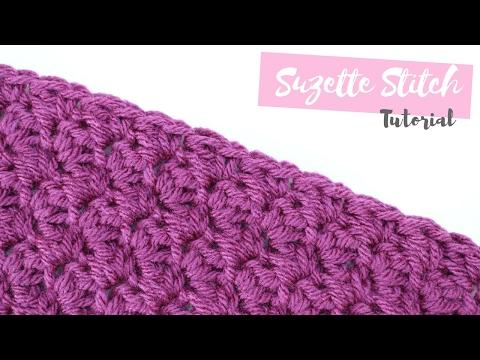 CROCHET: How to crochet the Suzette stitch | Bella Coco