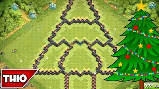getlinkyoutube.com-Clash of Clans | BEST TOWNHALL 10 CHRISTMAS TREE FARMING BASE