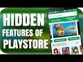 10 HIDDEN Features of Google PLAYSTORE😎