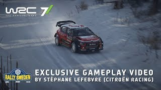 WRC 7 - Sweden Játékmenet