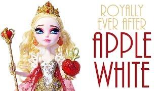 getlinkyoutube.com-Royal Apple White Doll Repaint [EVER AFTER HIGH]
