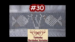 getlinkyoutube.com-Tathinha Bordados #30 - PONTO CRIVO COM CORTE - BORDADO