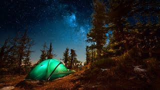 getlinkyoutube.com-Campfire Sounds - Relaxing Forest and Nature Soundscape: Camping Under the Stars