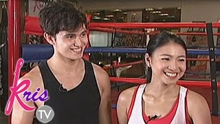 getlinkyoutube.com-Kris and JaDine go fit and fab with boxing