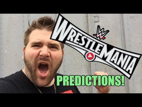 Grim's WWE WRESTLEMANIA 31 Predictions!! Full Card Matches Preview!